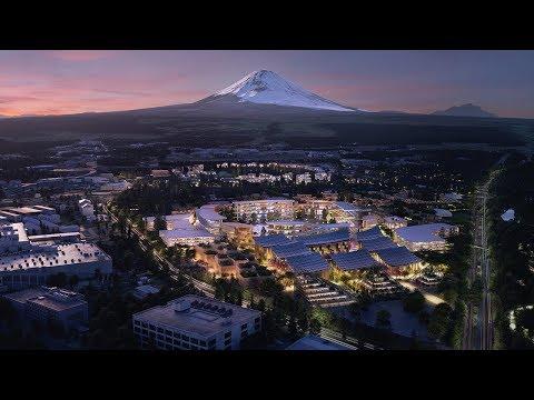 Toyota построит в Японии самый «умный» город в мире