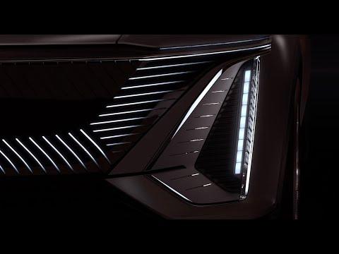 Cadillac опубликовал тизер своего первого электромобиля (ВИДЕО)