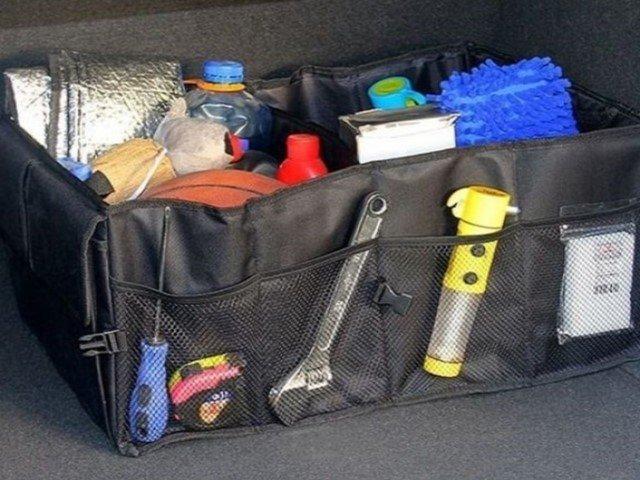 Как выбрать толковый органайзер для багажника