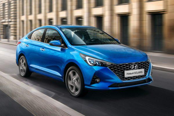 Выгодные цены на Hyundai Solaris в разных комплектациях и цветовых решениях
