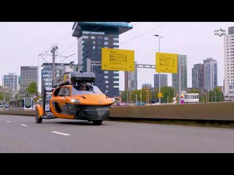 На дороги Европы вышел летающий автомобиль PAL-V Liberty