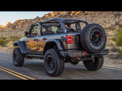 Гамма Jeep Wrangler пополнилась модификацией с 6,4-литровым V8