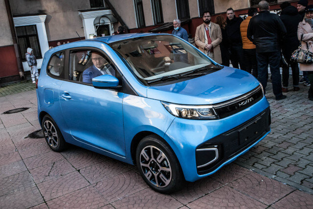 Китайские электромобили Hoann будут продавать в РФ через дилеров Chery. Но в Chery об этом не знают…