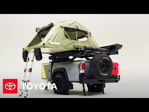 Toyota представила кемперный прицеп, сделанный из задней части пикапа