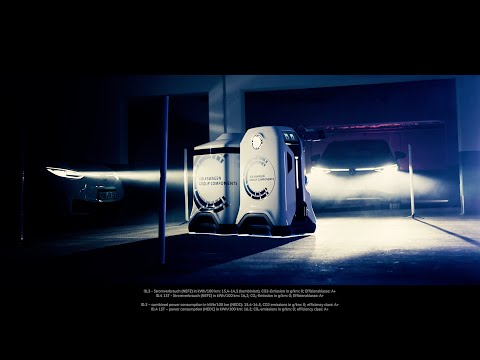 Volkswagen показал мобильного робота-«зарядника» в работе (ВИДЕО)