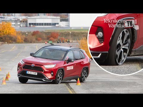 Toyota RAV4 Prime провалил «лосиный тест». Снова
