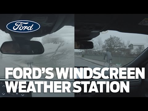Ford придумал, как побороть запотевание стекол