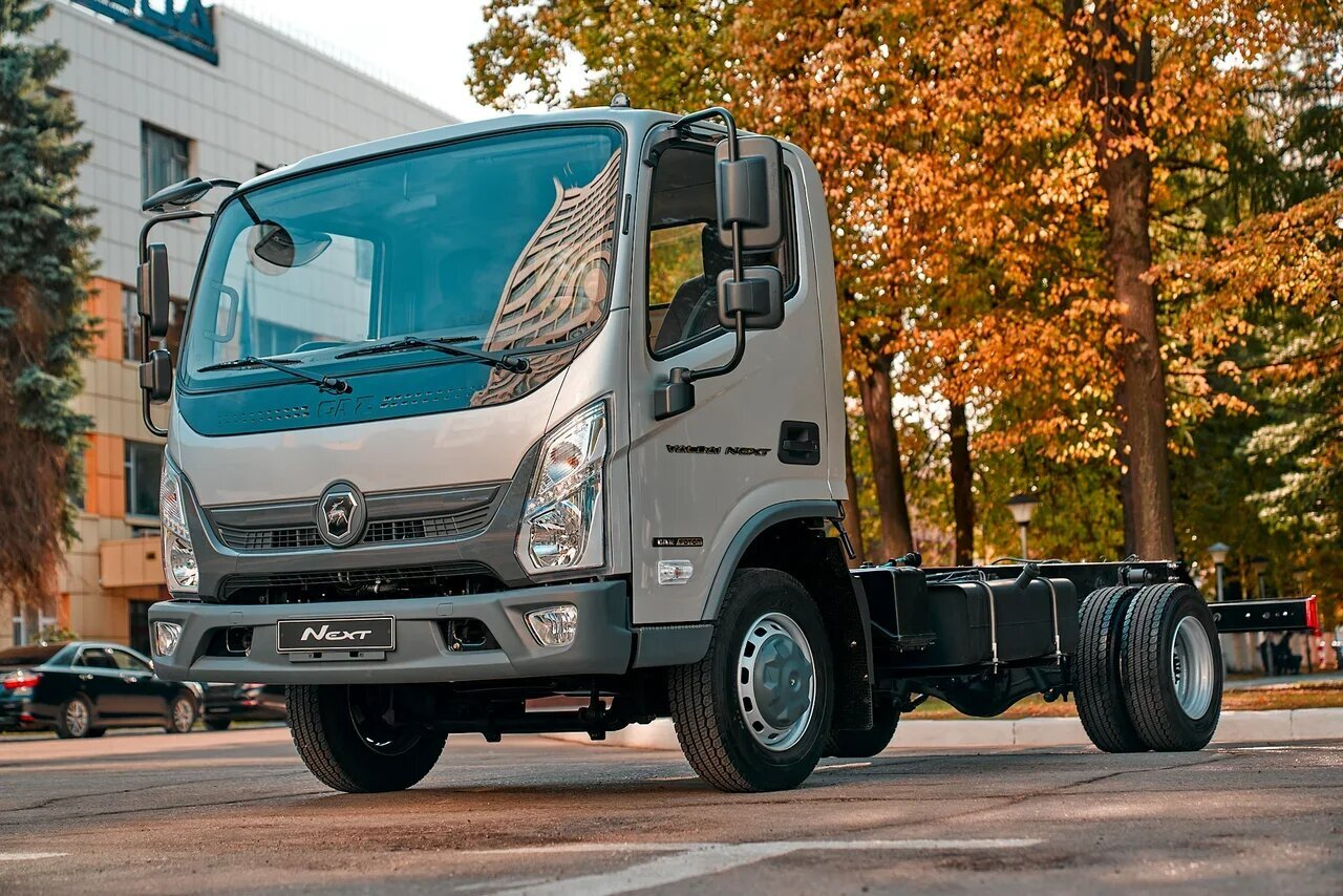 Презентация совершенно нового городского грузовика Валдай NEXT в Красноярске!