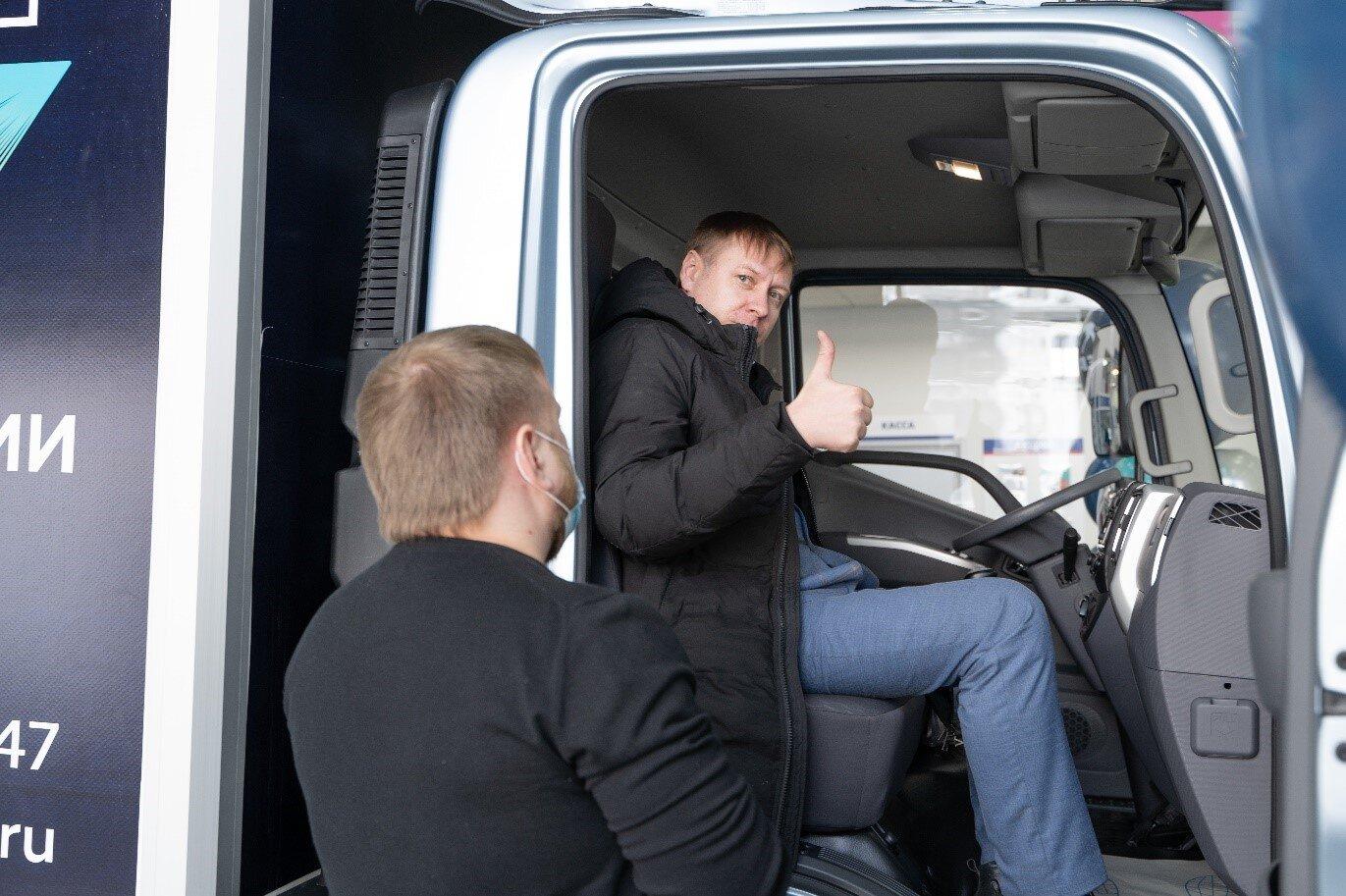 В Красноярске начались продажи нового среднетоннажного грузового автомобиля «Валдай NEXT»