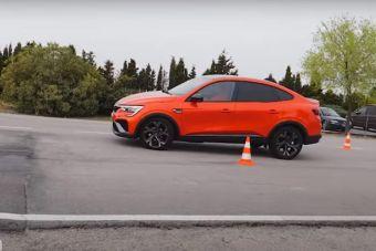 Renault Arkana с отличием прошла «лосиный тест» (ВИДЕО)