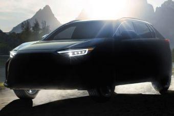 Subaru выпустит электромобиль Solterra