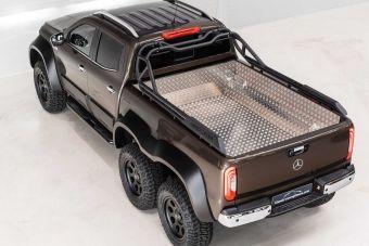 Монструозный Mercedes-Benz X-Class 6x6 существует, и его уже продали