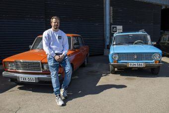 В Финляндии запустили прокат советских «Жигулей»