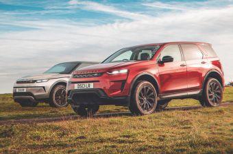 Land Rover переведет новые Evoque и Discovery Sport на электрическую платформу