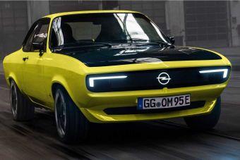 Opel превратил легендарную Manta в электромобиль