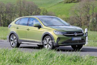 В Европе сфотографировали новый компактный кроссовер Volkswagen