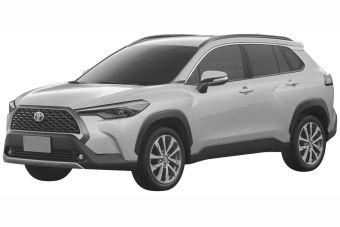 Toyota запатентовала в России кроссовер Королла