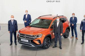 Недорогой кроссовер Volkswagen Taos: началось производство в России