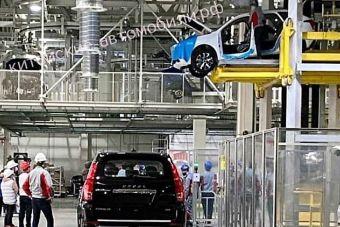 ФОТО: новый кроссовер Jolion едва не рухнул с конвейера тульского завода Haval