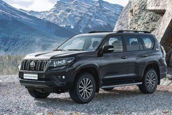 Toyota Land Cruiser Prado получила юбилейную спецверсию