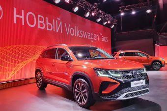 Volkswagen представил российскую версию кроссовера Taos