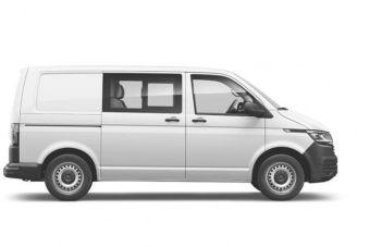 Volkswagen начал продавать в России Transporter в варианте «фургон-комби»