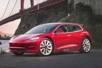 Tesla выпустит электромобиль ценой 1,8 млн рублей в 2023 году