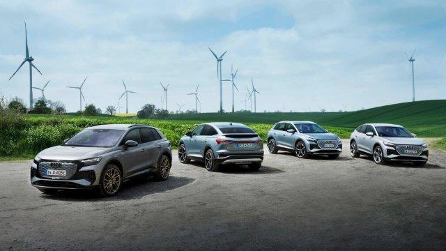 Audi с 2026 года будет производить только электромобили