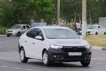 В России начали тестировать новый Renault Logan