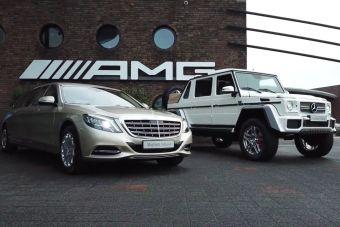 AMG, Maybach и G-Class выделят в новое подразделение внутри Daimler AG