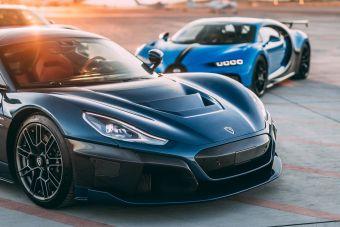 Bugatti и Rimac будут совместно производить ультрадорогие суперкары