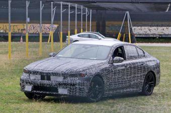 BMW выпустит электрическую версию седана 5 Series: ее уже тестируют
