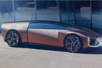 Pininfarina показала представительский автомобиль будущего
