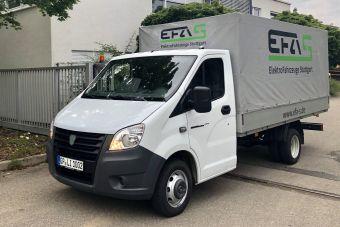 ГАЗ хочет продавать в Германии водородные ГАЗели
