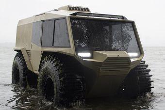 В Днепре начали производство вездехода Atlas, конкурента Шерпу