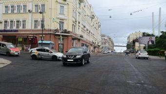 Улицу Светланскую во Владивостоке открыли для движения раньше намеченного срока