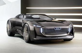 Audi представила Skysphere — электрический спорткар с изменяемой колесной базой
