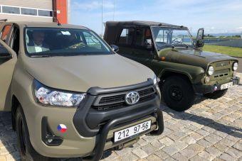 Армия Чехии прощается с советскими УАЗами
