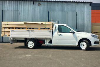 В Тольятти построили усиленную Гранту-грузовик — она может перевозить тонну!