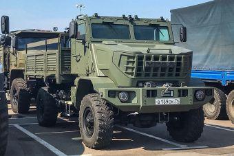 «Урал» разработал очень страшный военный грузовик