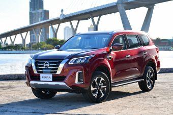 Рамный внедорожник Nissan Terra подвергли модернизации