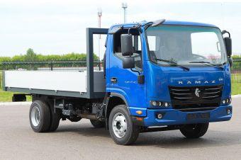 В гамме КАМАЗа появится грузовик с 2,2-литровым мотором