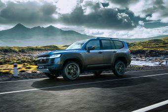 В России стартовал прием заказов на Land Cruiser 300 в спортверсии