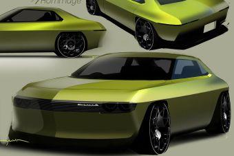 Nissan представил, как бы выглядела Silvia 1964 года в виде современного электромобиля