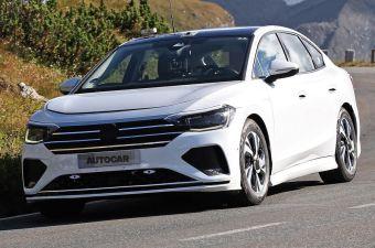 Volkswagen вывел на тесты электрическую замену Пассата