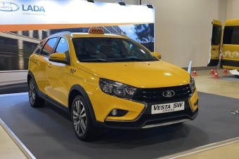 Lada Vesta SW Cross превратили в такси