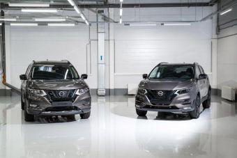 Nissan начал продавать в России Qashqai и X-Trail в черной спецверсии N-Design