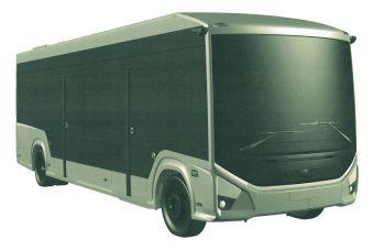ГАЗ запатентовал электробус среднего класса