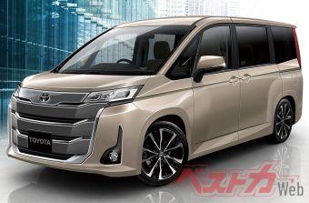 Toyota выпустит новое поколение Noah в начале 2022 года