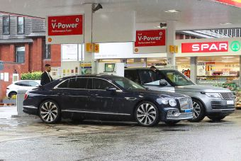 Топливный кризис в Великобритании добрался до автопарка Криштиану Роналду